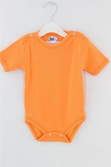Sema Bebe Momyarım Kol Body Bebek Giyim Pembe